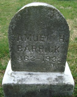 Samuel Harry Barrick