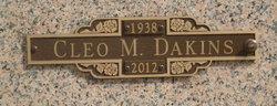 Cleo M. Dakins