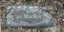 Bertha <i>MacKin</i> Bailley