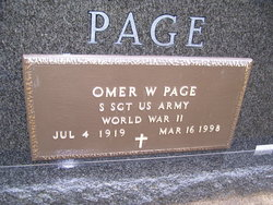 Omer W. Page