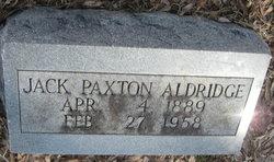 Jack Paxton Aldridge