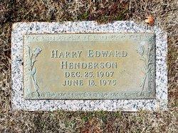 Harry Edward Henderson