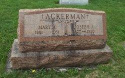 Mary M <i>Wolf</i> Ackerman