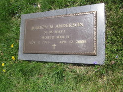 Marion M Anderson