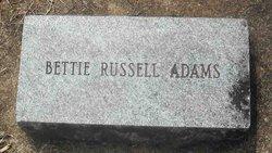 Bettie <i>Russell</i> Adams