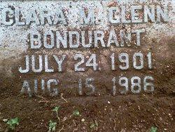 Clara M <i>Glenn</i> Bondurant