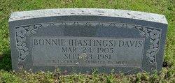Bonnie <i>Hastings</i> Davis