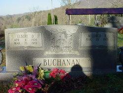 Pvt Elbert D. Buchanan