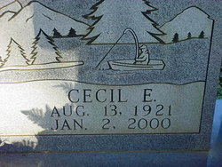 Pvt Cecil Edward Buchanan