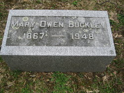 Mary <i>Owen</i> Buckley