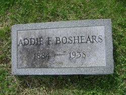 Addie F <i>Burke</i> Boshers