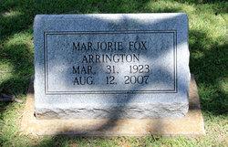 Marjorie Marie <i>Fox</i> Arrington