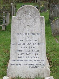 Leading Aircraftman Cyril Lambert