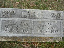 William David Hader
