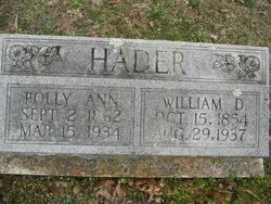 Polly Ann <i>Allee</i> Hader