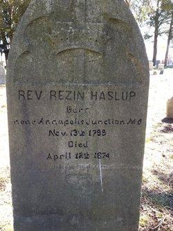 Rev Rezin Haslup