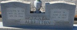 Annie <i>Wellons</i> Albritton