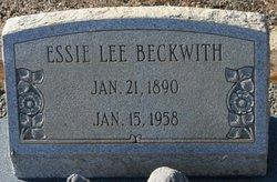 Essa Lee Essie Beckwith
