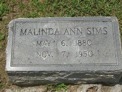 Malinda A Linnie Sims
