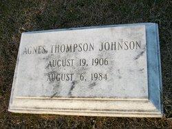 Agnes <i>Thompson</i> Johnson