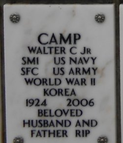Walter C Camp, Jr