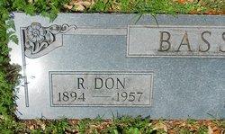Rufus Don Bass