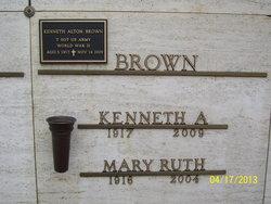 Mary Ruth <i>Hammontree</i> Brown
