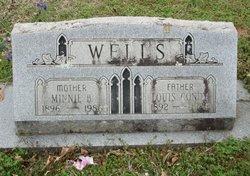 Minnie B <i>Richards</i> Wells