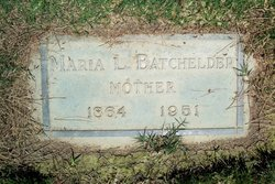 Maria Louisa <i>Davis</i> Batchelder