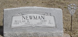 Beulah Helena <i>Reed</i> Newman