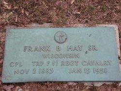 Frank Bertram Hay