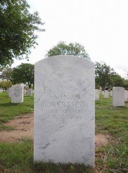 Nina Robbie <i>Frederick</i> Robertson