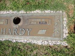Jessie M <i>Reece</i> Hardy