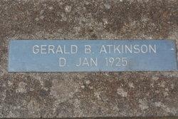 Gerald B Atkinson