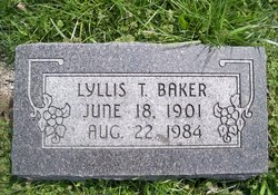 Lyllis Theodosia <i>Lowe</i> Baker