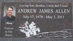 Andrew James Andy Allen