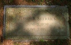 Jessie <i>Behymer</i> Sherrick