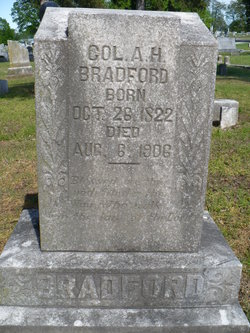Col Alsey High Asa Bradford