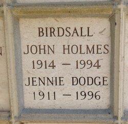 Jennie <i>Dodge</i> Birdsall