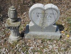 V Emma <i>Nicholos</i> Wilson
