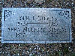 Anna <i>Mugford</i> Stevens