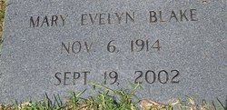 Mary Evelyn Blake