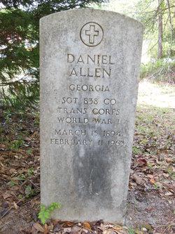 Sgt Daniel Allen