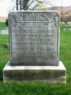 Margaret Isabella <i>Snyder</i> Dimmick