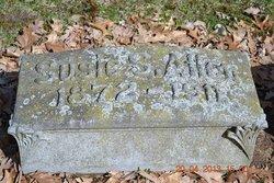 Susan Snow Susie <i>Coombs</i> Allen