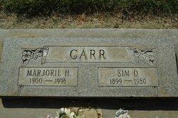 Marjorie H Carr