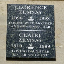 Florence Zemsay