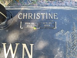 Christine <i>Chappell</i> Brown