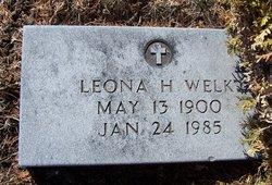Leona Helen <i>Allain</i> Welk