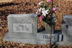 Jesse F Coats